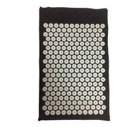 Exemplary Onyx Black Acupressure Massage Yoga Mat + Free Pillow - Yoga Mats - Chakra Galaxy