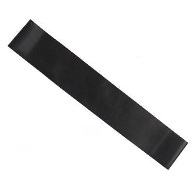 Extra Heavy Pitch Black Yoga Resistance Band for Pilates Training - Yoga Props - Chakra Galaxy