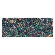 Extraordinarily Flawless Abstract Mandala Suede + Rubber Yoga Mat - Yoga Mats - Chakra Galaxy
