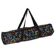 Full-Zip Colorful Mouse Character Print Nylon Yoga Mat Bag - Yoga Mat Bags - Chakra Galaxy