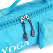 Full Zipper Waterproof Large Capacity Blue Yoga Mat Shoulder Bag - Yoga Mat Bags - Chakra Galaxy