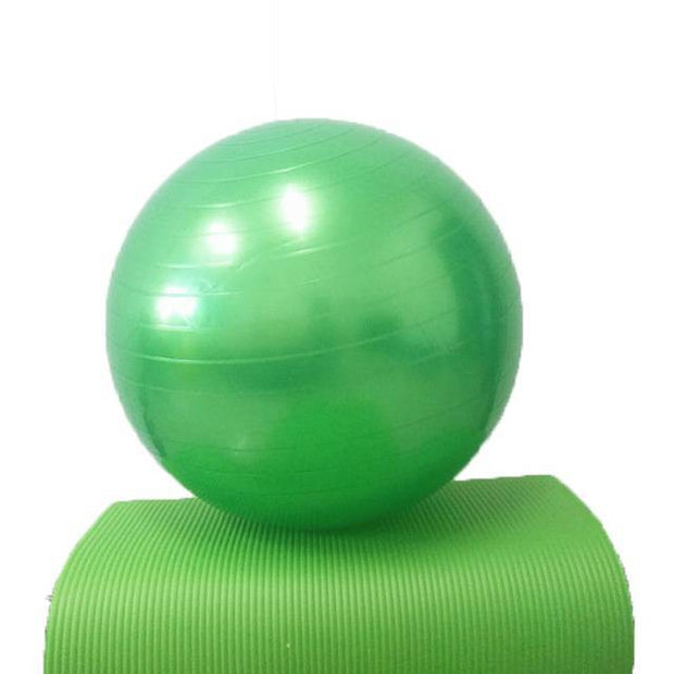 Incredible Emerald Green Yoga Ergonomic Ball for Core Strengthening - Yoga Props - Chakra Galaxy