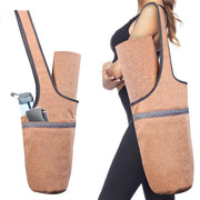 Large Capacity Casual Look Cork Yoga Mat Fitness Shoulder Bag - Yoga Mat Bags - Chakra Galaxy