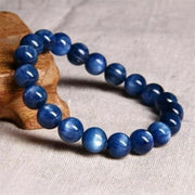 Natural Gorgeous and Fashionable 10mm Blue Tiger Eye Stone Beads Bracelet - Charm Bracelet - Chakra Galaxy