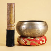 Nepalese Hand Hammered Tibetan Meditation Bowl for Chakra Healing - Singing Bowl - Chakra Galaxy