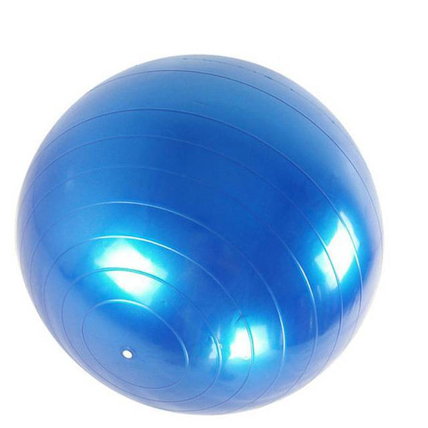 Prodigious Admiral Blue Yoga Medicine Ball for Core Strengthening - Yoga Props - Chakra Galaxy