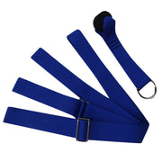 Sapphire Blue Yoga Flexible Nylon Strap for Extended Stretches - Yoga Props - Chakra Galaxy