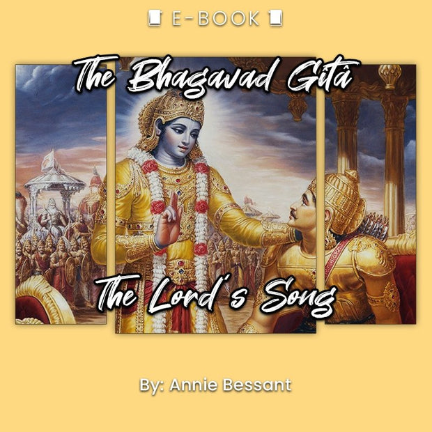 The Bhagavad Gîtâ: The Lord's Song eBook - eBook - Chakra Galaxy