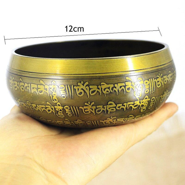 Tibetan Nepalese Mantra Singing Bowl Chakra Healing Meditation - Singing Bowl - Chakra Galaxy
