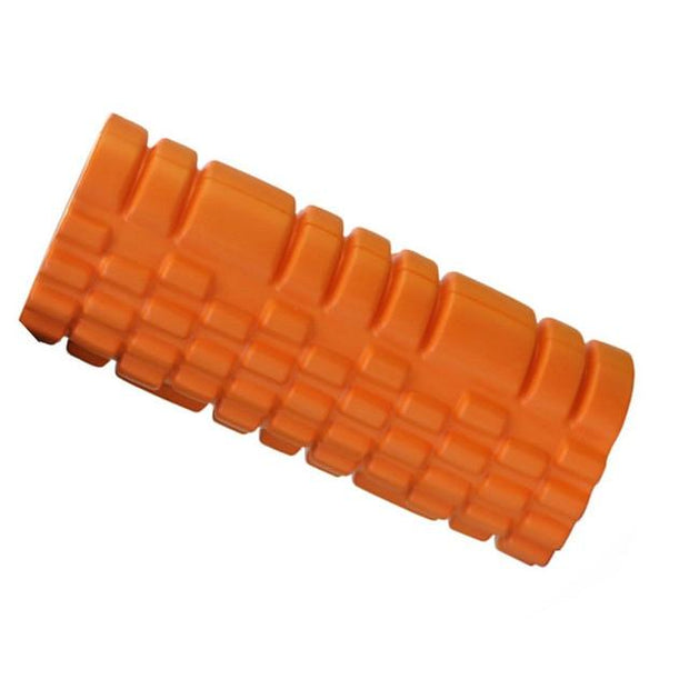 Tiger Orange Resin Yoga Massage Roller for Pilates Workout - Yoga Props - Chakra Galaxy