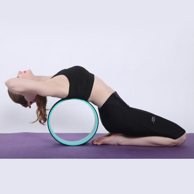 TPE Nonslip Yoga Wheel Fitness Prop For Back Training & Body Toning - Yoga Wheels - Chakra Galaxy