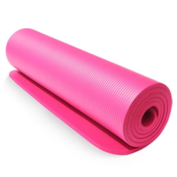 Unembellished Blushing Pink Yoga Mat for Pilates Workout TPE - Yoga Mats - Chakra Galaxy