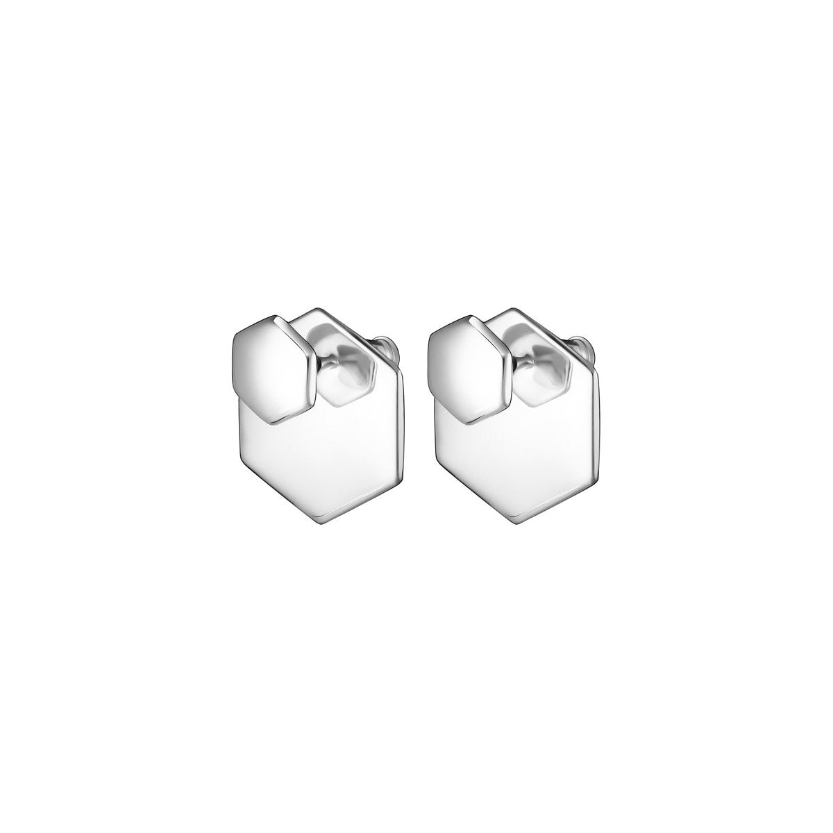 Code Royale Hexagon Earrings