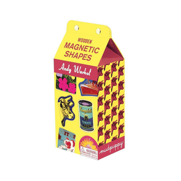 Warhol Wooden Magnetic Shapes Set