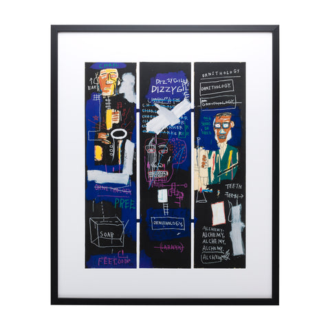 Horn Players Framed Art Print