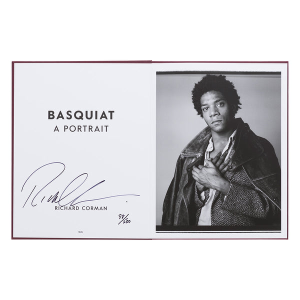 Richard Corman - Basquiat: A Portrait (Hand Signed)