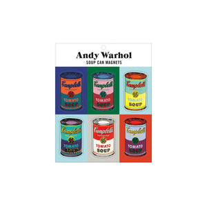 Warhol Campbell's Soup Can Magnets