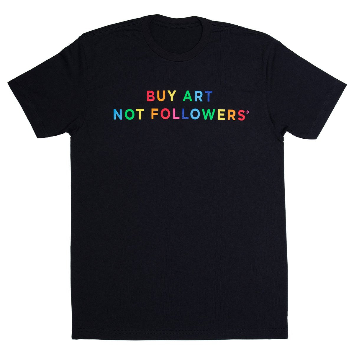 Buy Art Not Followers x The Broad Tee