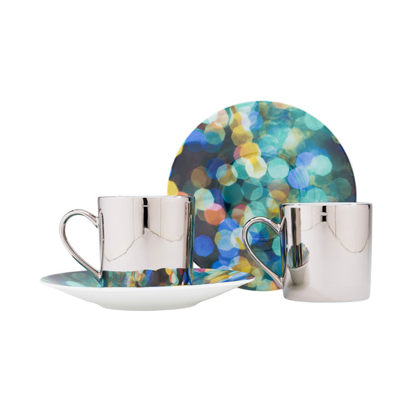 Infinity Cup and Saucer Set