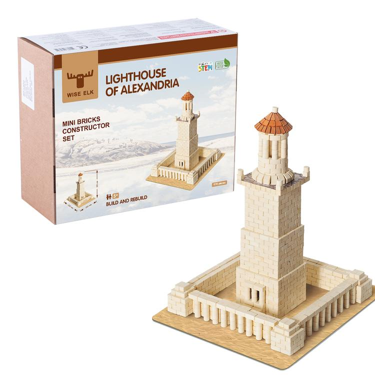 Wise Elk™ Lighthouse of Alexandria | 970 pcs.