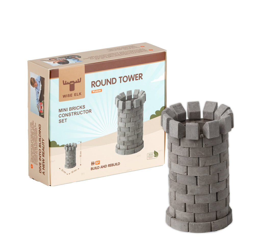 Wise Elk™ Round Tower | 90 pcs.