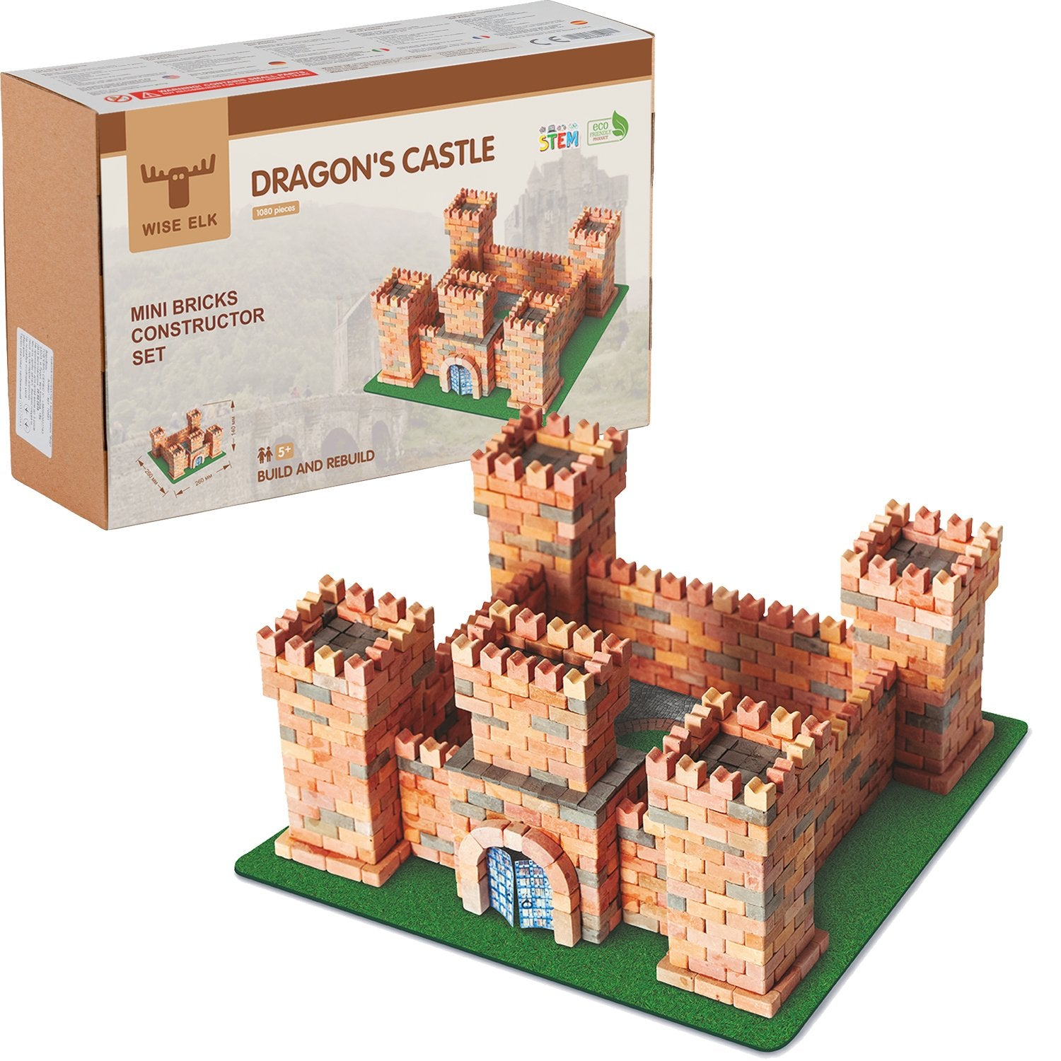 Wise Elk™ Dragon's Castle | 1080 pcs.