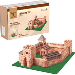 Wise Elk™ Red Castle | 1800 pcs.