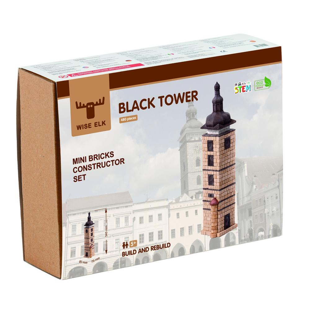 Wise Elk™ Black Tower | 510 pcs.