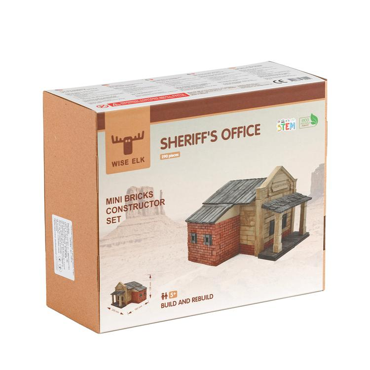 Wise Elk™ Sheriff Office | 290 pcs.
