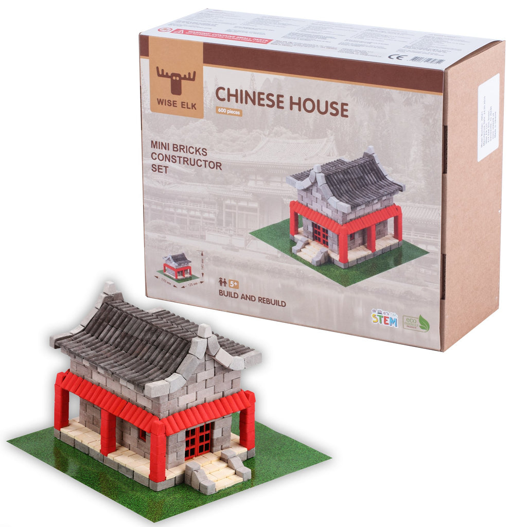 Wise Elk™ Chinese House | 600 pcs.