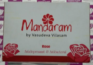 Mandaram Bathing Bar 75g Rose