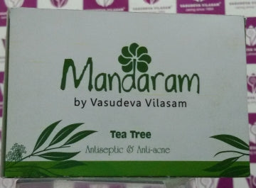 Mandaram Bathing Bar 75g Tea Tree Oil