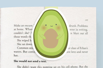 Avocado Magnetic Bookmark (Jumbo)
