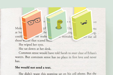 Bookish Magnetic Bookmarks (Mini 3 pack)