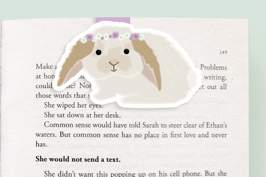 Bunny Magnetic Bookmark (Jumbo)