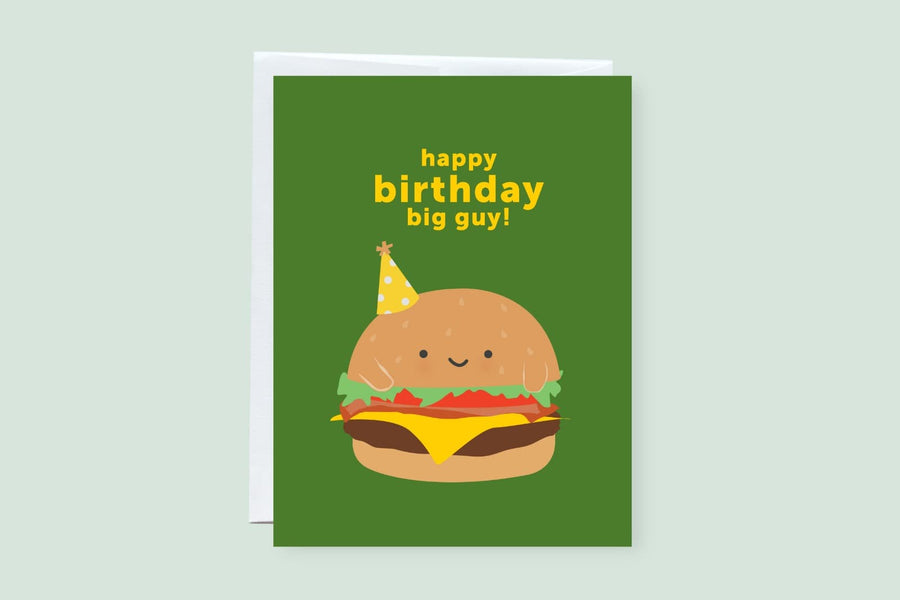 Happy Birthday Big Guy Greeting Card