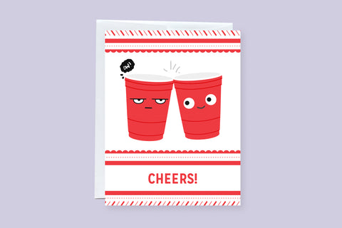 Cheers! Holiday Greeting Card