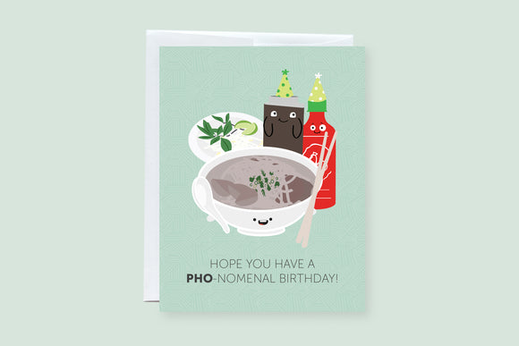 Phonomenal Greeting Card