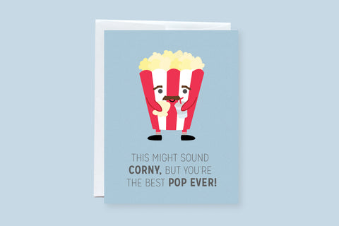 "Father's Day or Birthday ""Pop"" Greeting Card"