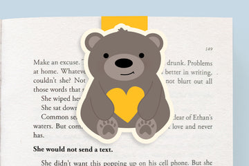 Bear Magnetic Bookmark (Jumbo) BC Children's Hospital Exclusive Design