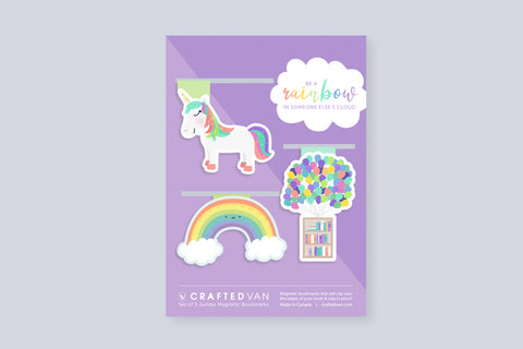 Rainbow Bookmark Gift Set