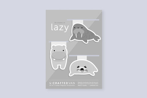 Fifty Shades of Lazy Bookmark Gift Set