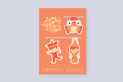 Live Happily Every Now Bookmark Gift Set