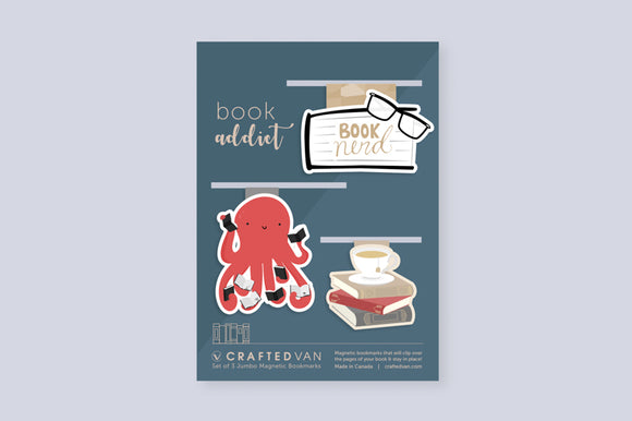 Book Addict Bookmark Gift Set