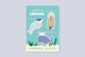 Just Keep Swimming Pt. 2 Bookmark Gift Set