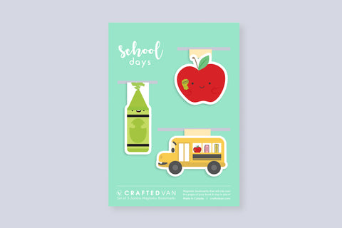 School Days Bookmark Gift Set