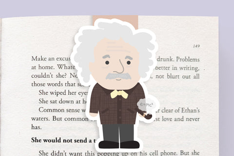 Einstein Magnetic Bookmark (Jumbo)