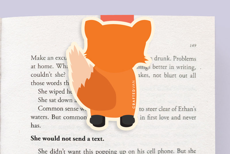 Fox Magnetic Bookmark (Jumbo)