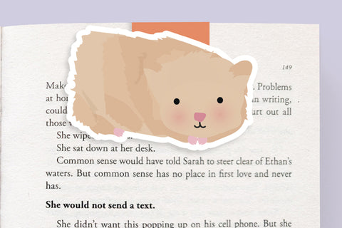 Hampster Magnetic Bookmark (Jumbo)