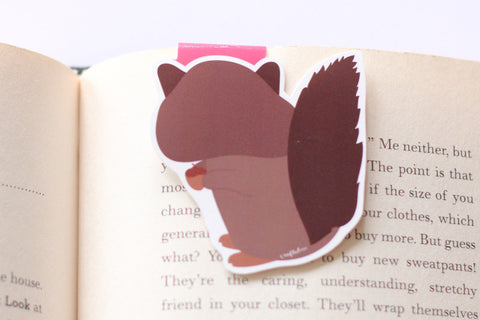 Squirrel Magnetic Bookmark (Jumbo)